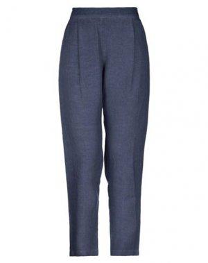 Укороченные брюки 120%. Цвет: грифельно-синий