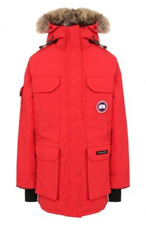 Парка Expedition Canada Goose. Цвет: красный