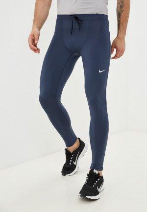 Тайтсы Nike M NK DF CHLLGR TIGHT. Цвет: синий