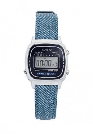 Часы Casio Collection LA670WEL-2A2. Цвет: синий