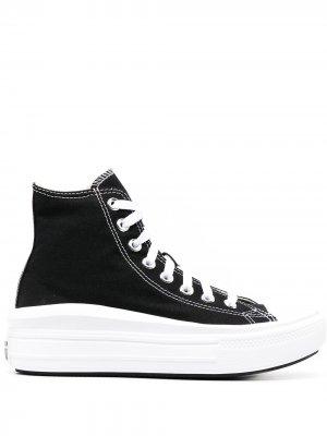 Высокие кеды All Star Move Converse. Цвет: черный