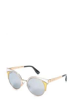 Очки солнцезащитные Jimmy Choo JI002DWNNQ22. Цвет: золотой