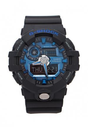 Часы Casio G-SHOCK GA-710-1A2. Цвет: черный