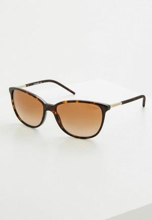 Очки солнцезащитные Burberry BE4180 300213. Цвет: коричневый