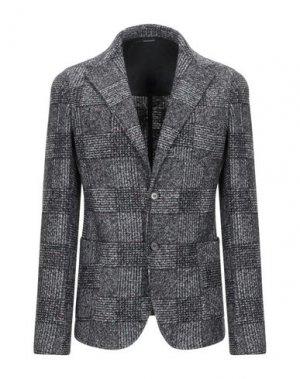 Пиджак GAZZARRINI. Цвет: свинцово-серый