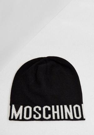 Шапка Moschino. Цвет: черный