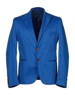 Пиджак MNML COUTURE. Цвет: ярко-синий