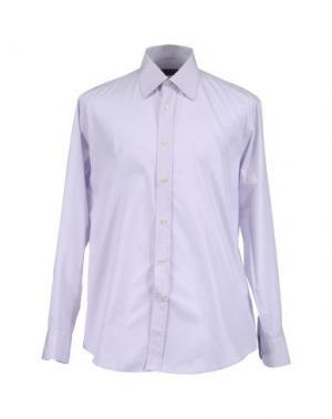 Рубашка с длинными рукавами HUB. Цвет: розовый