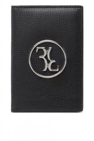 Черный футляр для кредитных карт Billionaire. Цвет: черный