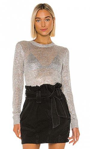 Пуловер domus IRO. Цвет: металлический серебряный