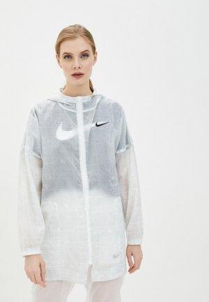 Ветровка Nike W NSW INDIO JKT WOVEN AOP. Цвет: зеленый