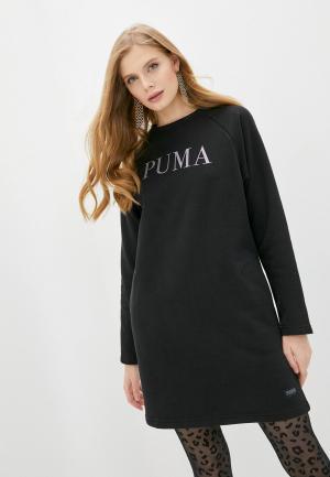 Платье PUMA Athletics Dress FL. Цвет: черный