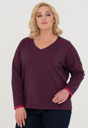 Пуловер CnScollection. Цвет: бордовый