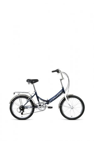 Велос Forward. Цвет: темно-синий, серый
