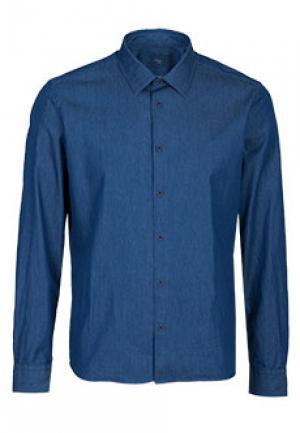 Рубашка ALTEA. Цвет: синий