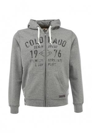 Толстовка Colorado Jeans. Цвет: серый