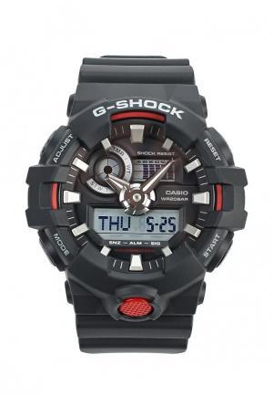 Часы Casio G-SHOCK GA-700-1A. Цвет: черный