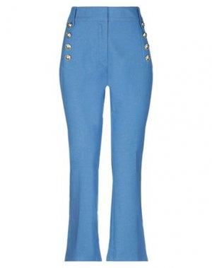 Повседневные брюки DEREK LAM 10 CROSBY. Цвет: грифельно-синий