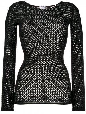 Пуловер Jeanne Wolford. Цвет: черный
