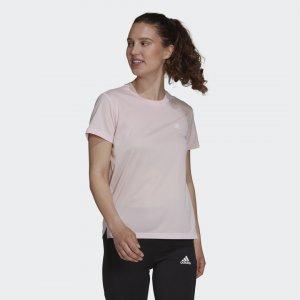 Футболка для фитнеса AEROREADY Designed To Move Sport Performance adidas. Цвет: розовый