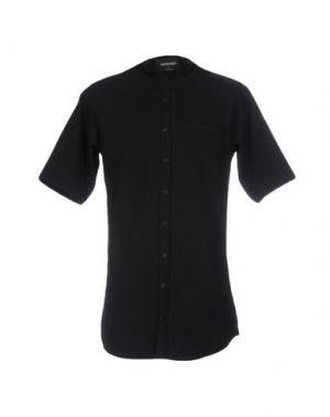 Pубашка ANERKJENDT. Цвет: черный
