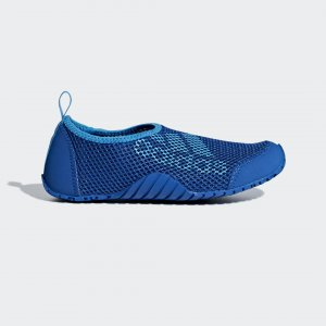 Коралловые тапочки Kurobe Performance adidas. Цвет: синий