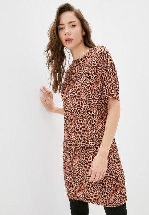 Платье Blacksi 1459. Цвет: коричневый
