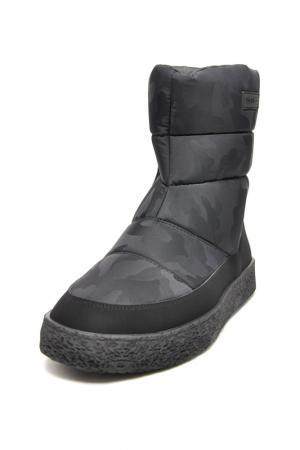 Сапоги Jog Dog. Цвет: черный камуфляж