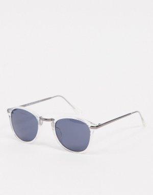 Солнцезащитные очки в прозрачной оправе -Очистить AJ Morgan
