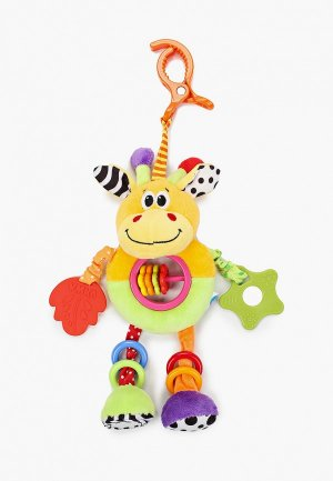 Погремушка Умка с прорезывателями Жираф. Цвет: разноцветный