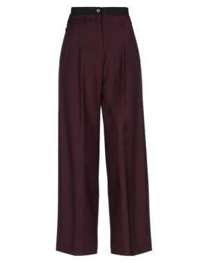 Повседневные брюки ATTIC AND BARN. Цвет: красно-коричневый