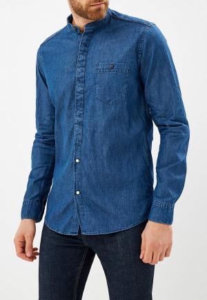 Рубашка джинсовая Sahera Rahmani. Цвет: синий