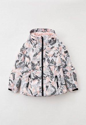 Куртка горнолыжная Glissade. Цвет: разноцветный