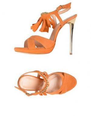Сандалии CHIARA P. Цвет: оранжевый