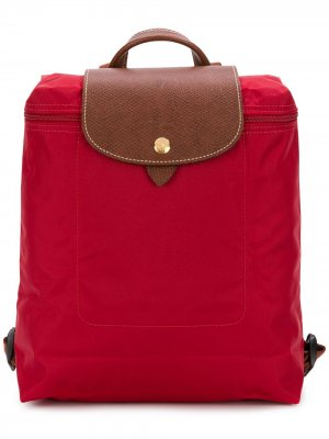 Рюкзак Le Pliage Longchamp. Цвет: красный