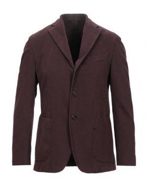 Пиджак LA VIE EST BELLE. Цвет: красно-коричневый