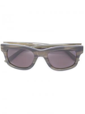 Солнцезащитные очки Type 01 Sun Buddies. Цвет: серый