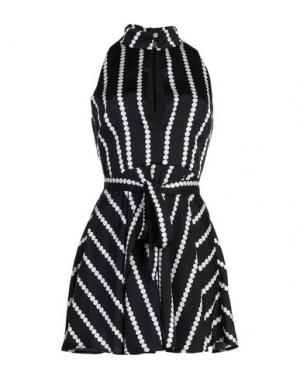 Короткое платье FINDERS KEEPERS. Цвет: черный