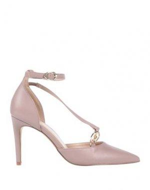 Туфли GATTINONI. Цвет: пастельно-розовый