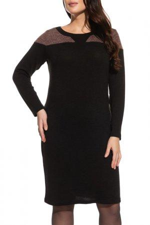 Платье La Via Estelar. Цвет: коричневый
