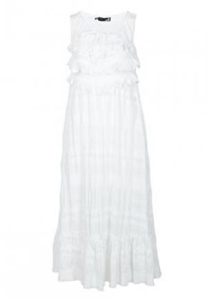 Платье MOSCHINO Love. Цвет: белый