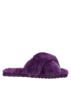 Сандалии EMU. Цвет: фиолетовый