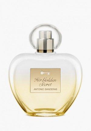 Туалетная вода Antonio Banderas Her Golden Secret, 80 мл. Цвет: прозрачный
