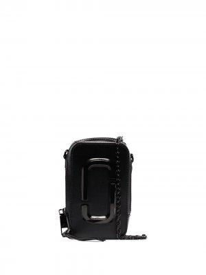 Мини-сумка Hot Shot Marc Jacobs. Цвет: черный