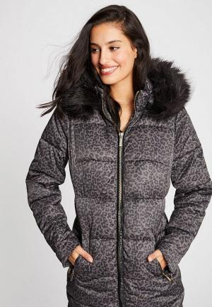 Куртка утепленная Morgan. Цвет: коричневый