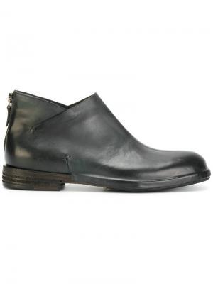 Классические узкие ботинки Del Carlo. Цвет: синий