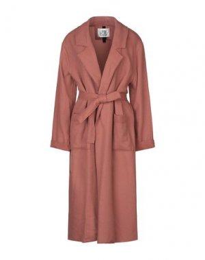 Легкое пальто ATTIC AND BARN. Цвет: пастельно-розовый