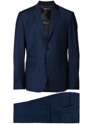 Two piece fitted suit Philipp Plein. Цвет: синий