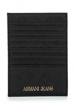 Визитница Armani Jeans AR411DWPWB53. Цвет: черный