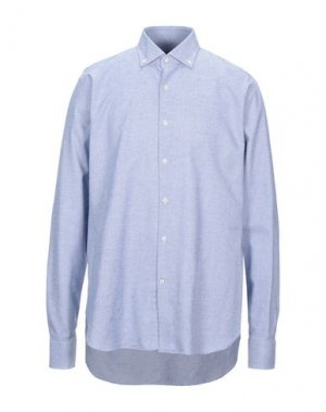 Pубашка GHERARDINI. Цвет: синий